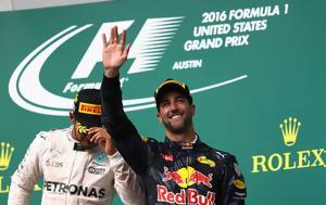 Ricciardo, Μπορώ, Hamilton, Ricciardo, boro, Hamilton