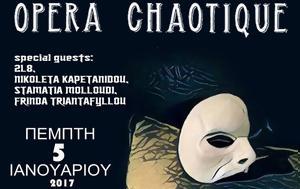 Opera Chaotique, Ζωντανή Μαύρη Τρύπα, Opera Chaotique, zontani mavri trypa