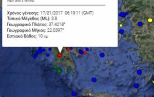 Σεισμός, Πελοπόννησο, seismos, peloponniso