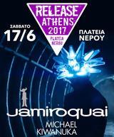 Jamiroquai, Michael Kiwanuka, Ιούνιο, Release Athens 2017,Jamiroquai, Michael Kiwanuka, iounio, Release Athens 2017