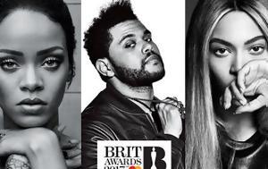 Brit Awards 2017, Ανακοινώθηκαν, Brit Awards 2017, anakoinothikan