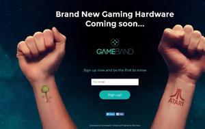 GameBand, Επιστροφή, Atari, GameBand, epistrofi, Atari