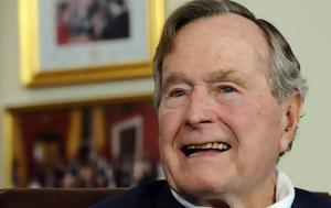Στο νοσοκομείο ο πρώην πρόεδρος τζορτζ μπους ο πρεσβύτερος