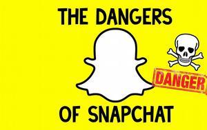Snapchat, Προσοχή, Snapchat, prosochi