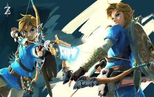 Legend, Zelda, Breath, Wild, Switch, Wii U