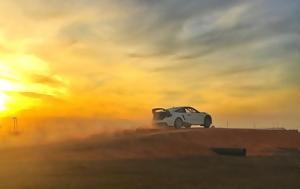 Jenson Button, Honda Civic, Rallycross