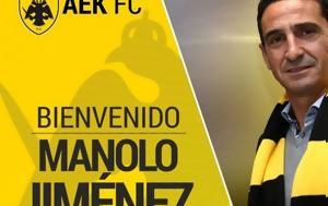 Manolo Jimenez, AEK