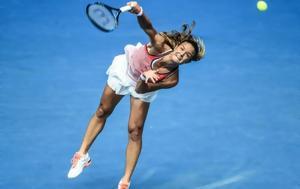 Τένις, Ηττα, Σάκκαρη, Australian Open, tenis, itta, sakkari, Australian Open