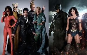 Χρυσά Βατόμουρα 2017, Zoolander 2, Batman, Superman, chrysa vatomoura 2017, Zoolander 2, Batman, Superman
