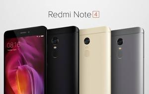 Xiaomi Redmi Note 4, Sold, 250 000