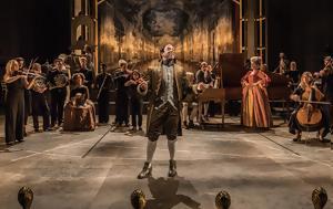 Amadeus, Οlivier Theatre, Λονδίνου, Amadeus, olivier Theatre, londinou