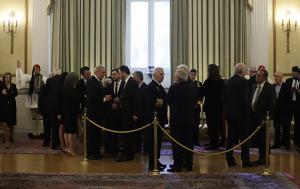 Δεξίωση, Διπλωματικό Σώμα, Πρόεδρος, Δημοκρατίας, dexiosi, diplomatiko soma, proedros, dimokratias