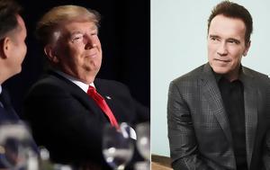 O Schwarzenegger, Trump, Video