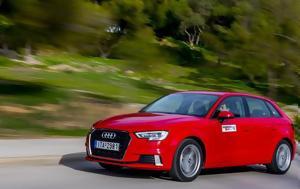 Audi A3 Sportback 1 0 TFSI 116 PS S Tronic Αξιολογούμε, Audi A3 Sportback 1 0 TFSI 116 PS S Tronic axiologoume