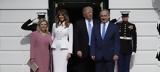 O Τραμπ, Νετανιάχου, Λευκό Οίκο -Το, Μελάνια, [εικόνες],O trab, netaniachou, lefko oiko -to, melania, [eikones]