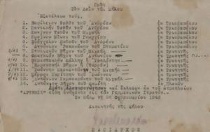 Μήλο –, 23ης Φεβρουαρίου 1943, milo –, 23is fevrouariou 1943