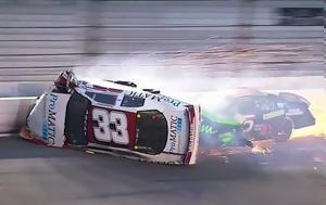 Ατύχημα, NASCAR, atychima, NASCAR