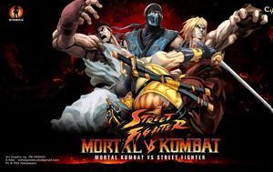 Πόσο, Mortal Kombat Vs Street Fighter, poso, Mortal Kombat Vs Street Fighter