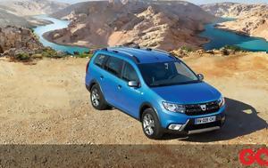 Νέο Dacia Logan MCV Stepway, neo Dacia Logan MCV Stepway