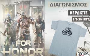 Αποτελέσματα Διαγωνισμού, T-Shirts For Honor, apotelesmata diagonismou, T-Shirts For Honor