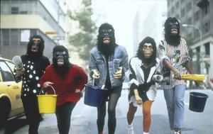 Guerrilla Girls, Στέγη, Guerrilla Girls, stegi