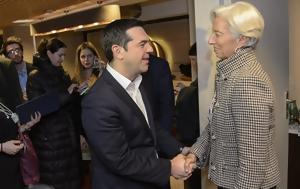 Govt, Tsipras-Lagarde, Merkel