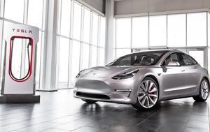 Ιούλιο, Tesla Model 3, ioulio, Tesla Model 3