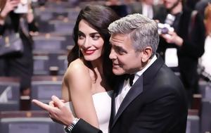 Ερωτευμένος, George Clooney, Amal, Cesar -vid, erotevmenos, George Clooney, Amal, Cesar -vid