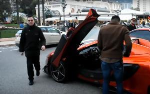 Radamel Falcao, McLaren 675 LT Spider, Monaco