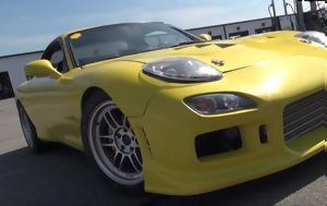 Mazda RX-7, McLaren Porsche, Lamborghini