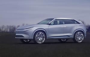 Hyundai Futuristic FE Fuel Cell Concept, 800