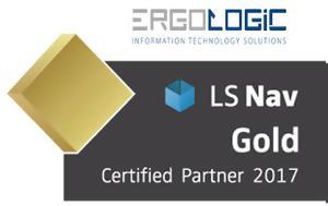 ERGOLOGIC LS Retail Gold Partner 2017