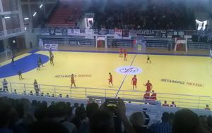 Κοζάνη, ΠΑΟΚ-Πανελλήνιος, Χάντμπολ, kozani, paok-panellinios, chantbol