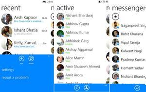 Messenger, Windows Phone 8, 8 1