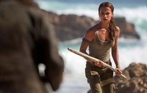 Tomb Raider, Πρώτη, Lara Croft, Tomb Raider, proti, Lara Croft