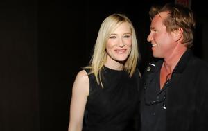 Val Kilmer, Cate Blanchett, Twitter