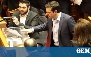 Greek Parliament, Defence Minister Papantoniou