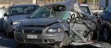 Το μισό αυτοκίνητο έμεινε από την σύγκρουση στον εύοσμο! (φωτό),