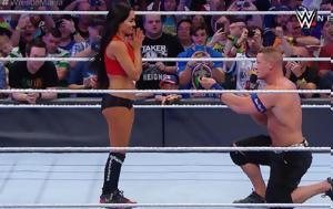 Πρόταση, John Cena, Wrestlemania, protasi, John Cena, Wrestlemania