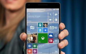 Αυτές, Windows 10 Mobile Creators Update, aftes, Windows 10 Mobile Creators Update
