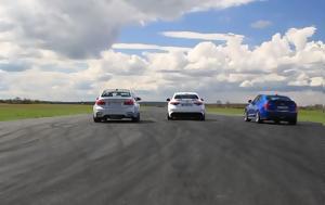 Giulia Quadrifoglio Vs M3 Competition Vs ATS-V, 1000αρι, Giulia Quadrifoglio Vs M3 Competition Vs ATS-V, 1000ari