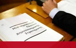 Μεσοπρόθεσμο 2018- 2021, mesoprothesmo 2018- 2021