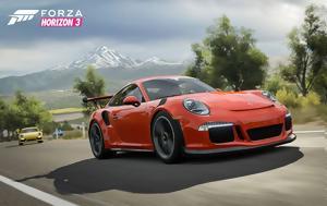 Ανακοινώθηκε, Porsche Car Pack, Forza Horizon 3, anakoinothike, Porsche Car Pack, Forza Horizon 3