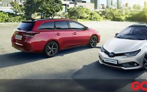 Διχρωμία, Toyota Auris, dichromia, Toyota Auris