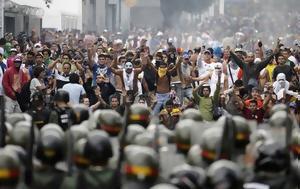 Χάος, Βενεζουέλα - Εξέγερση, Μαδούρο - ΦΩΤΟ, chaos, venezouela - exegersi, madouro - foto