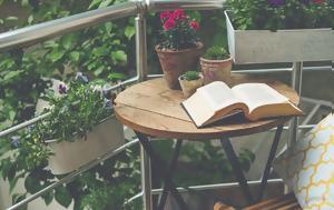 6 τρόποι για να μετατρέψεις τη βεράντα σου σε μικρό παράδεισο
