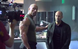 Dwayne Johnson, Jason Statham, Fast, Furious