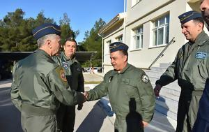 Επίσκεψη Αρχηγού ΓΕΑ, Αεροπορική Βάση Δεκέλειας, episkepsi archigou gea, aeroporiki vasi dekeleias