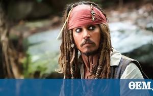 Johnny Depp, Disney's Pirates, Caribbean