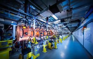 Επαναλειτουργεί, LHC, CERN, epanaleitourgei, LHC, CERN